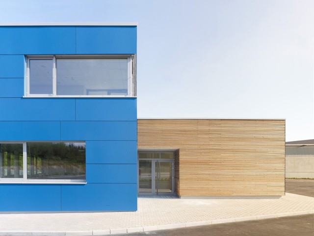 Neues Torhaus, Fa. Rettenmaier Rosenberg